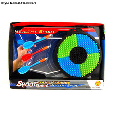 "17"" Safety magnetic dart board stands for kids toys play"