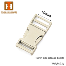 Alloy bag adjustable strap hardware strap buckle for backpack