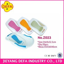 DEFA 2016 new baby product bath tubs and showers portable baby seat