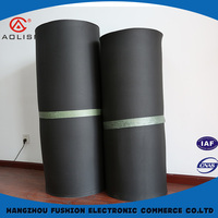 Thermal insulation close cell Soft black foam rubber sheets