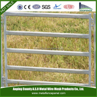 Heavy Duty Temporary Cattle Pipe Welded Wire Corral Panels