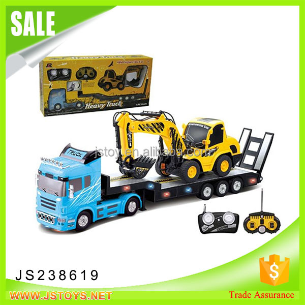 2017 New arrival rc tow truck for sale for wholesale remote control truck