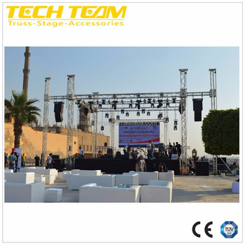 290mm aluminum stage frame truss structure//Used aluminum truss roof system