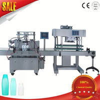 Automatic High Speed Piston Body Fluid Bottle Lotion Filler