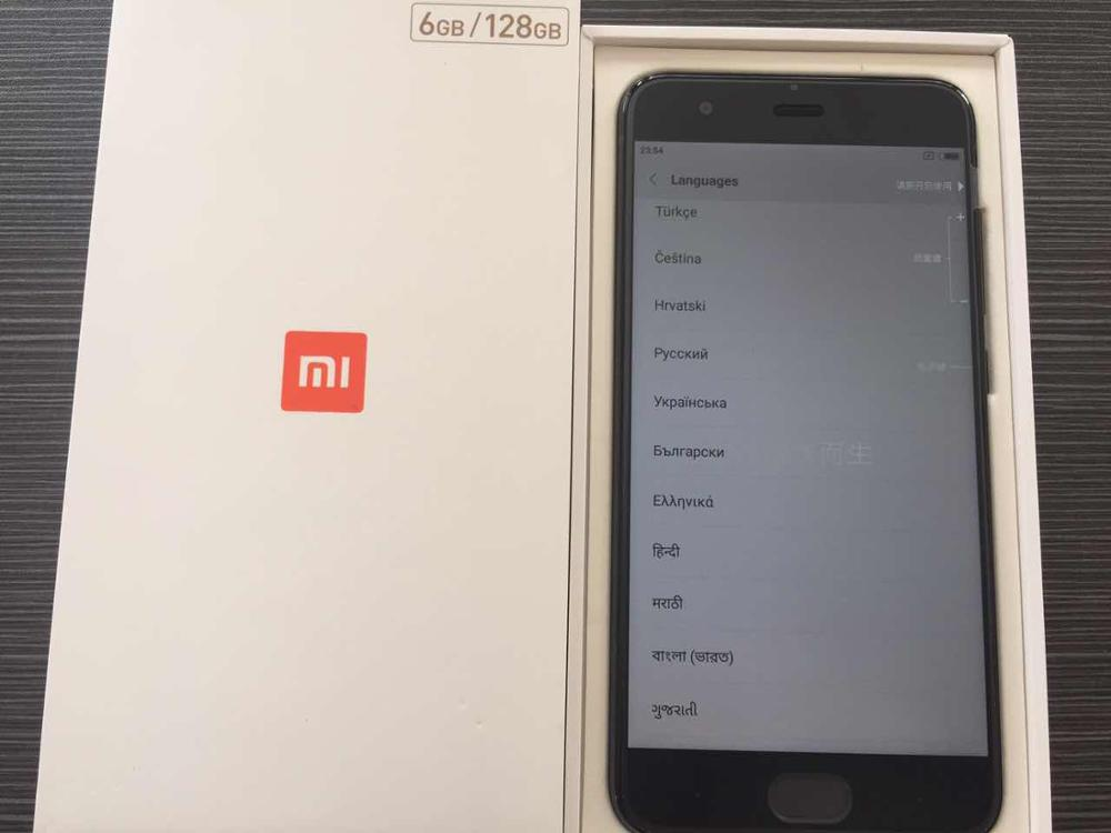 original Xiaomi Mi 6 Mi6 mobile phone 5.15inch Octa Core Qualcomm Snapdragon835 1080P 6GB ram 128GB rom QC3.0 MIUI 8 global rom