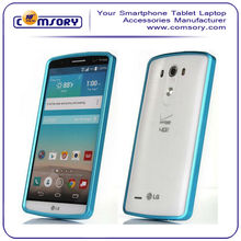 High Quality Ultra-thin Lightweight Slim Metal Bumper Case For LG G3