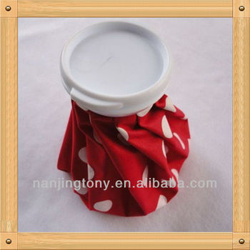 red color ice bag,6inch, 9inch, 11inch for medical use