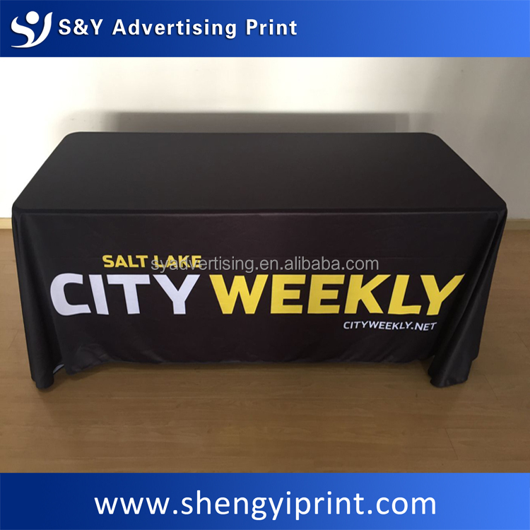 Factory Price Custom Table cover,exhibition Table Throw, Table cloth