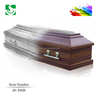 High quality cheap funeral coffin accessories antique Wooden Coffin
