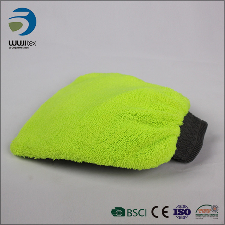 Eco-friendly Microfiber Car Dusting Glove cleaning mitt