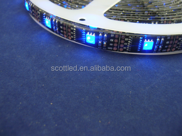 32leds/m 1led/ cut 5V 5050SMD ws2801 led strip