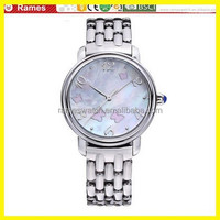 2015 eykiing charming elegant girls stainless steel watch butterfly