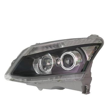 Plastic PC Auto Car Head Lamp With Lens For Isuzu Dmax 2012-2016