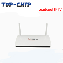 LeadCool IPTV Subscription 700 Europe Channels Smart TV Box Android 4.4 Arabic multi languages supported IP TV Box