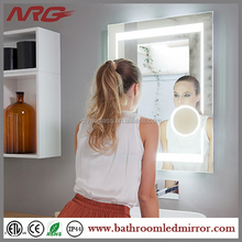 bathroom makeup mirror with led light