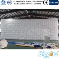 Polyester Material Customized Inflatable Structure Giant Building Trade Show Tent