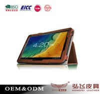 Hot selling leather tablet case