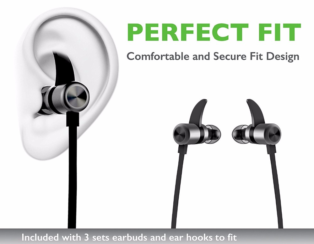 Shenzhen Factory Supplier bluetooth headphone wireless,bluetooth headphones wireless 4.1 magnetic bluetooth earphones sport