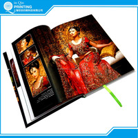 Top quality A4 hard cover book printing in Shanghai
