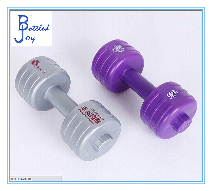 28oz plastic dumbbell shape sport water bottle using for outside practice china alibaba supplier