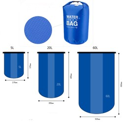 Waterproof dry floating bag Roihao outdoor sports PVC waterproof swimming bag, backpack dry bags