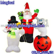 Funny christmas inflatable toys/inflatable decoration