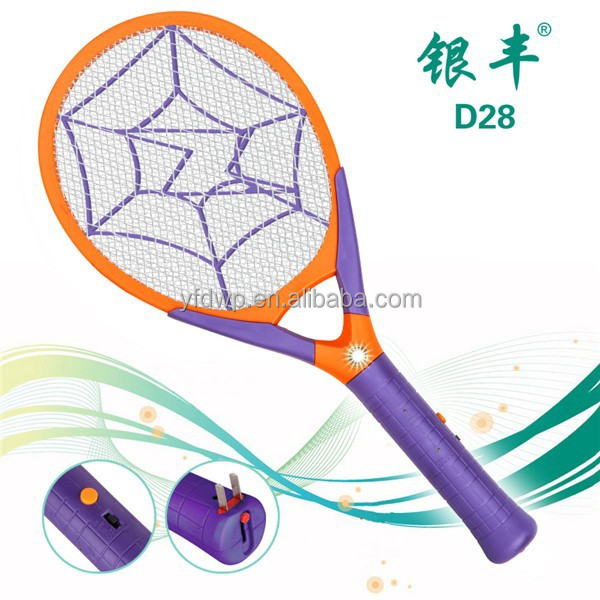 D28 Household item electric pest control fly kill, fly catcher, mosquito killer with LED light