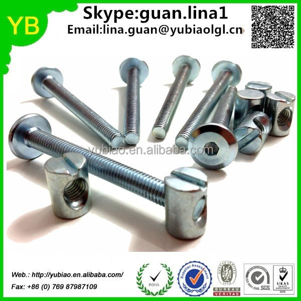 hardware fastener hex bolt and nut and washer with screw