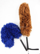 Corner Cleaning Duster With Flexible Head Telescopic Microfiber Duster