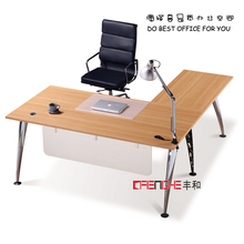 L-Shape Rectangular Office Desk With Cheap Prices MH-1124
