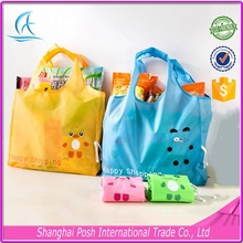 Reusable Grocery Shopping Bags,Folding Big Polyester Shopper Bag