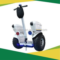 Nanjing Youth Olympic Sponsor!! White LED Taiwan Motor Patrol Electric Scooter with Fasion Speed display remote control