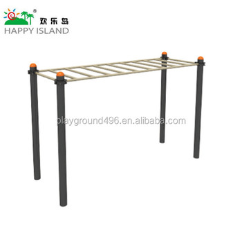 outdoor fitness equipment- Horizontal style sky ladder