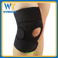 Wholesale Neoprene Spring Knee Support/ China Knee Support with Open Patella Stabilizer Kneecap Support