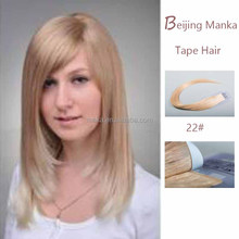 New product 100% virgin indian remy hair tape hair extension