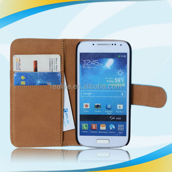 new arrival high quality for samsung galaxy s4 mini i9190 i9192 flip case