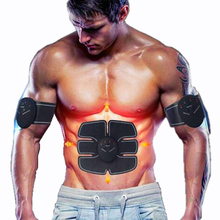 Protable Electric Abdominal muscle Trainer Body Massage Fit Home Fitness exercise abdominal muscles Loss Slimming Belt Massager