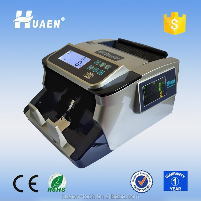 Hot selling money bill cash counter detector machine for sale