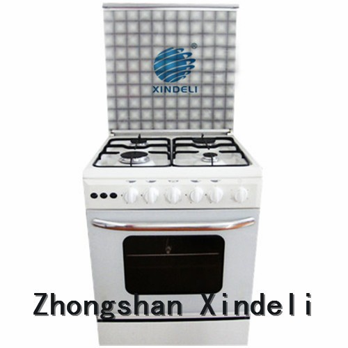 2016 hot sale Mirror Stainless Steel Free Standing Gas Stove with Oven, cheap cooking range with oven, 4 burners gas oven