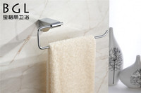 bathrooms with zine alloy chrome finishing towel ring