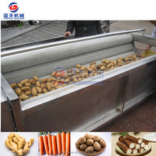 Roller washing machine fruit and vegetable peeling machine sweet potato peeling machine