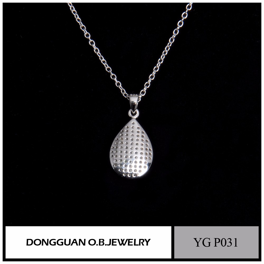 925 Sterling Silver The Diamond And Crystal Pendant Necklace On ALibaba Wholesale