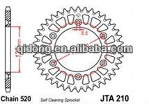 bicycle sprocket sizes/motorcycle sprocket size/sprocket size