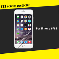 High clear mobile phone pet screen film for iphone 6 factory wholesale