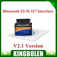 Best Price Super Mini ELM327 V2.1 Bluetooth OBD2 OBD-II CAN-BUS Auto Diagnostic Scanner Tool