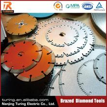 High Efficiency Long Working Life Brazed Diamond Tool Diamond Concrete Wall Saw Blade for Glass Marble Concrete