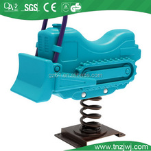 bulldozer swing toy domestic exported children plastic riding toy
