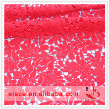 Top Seller Charming Water Soluble Lace Fabric Polyester Lace Fabric
