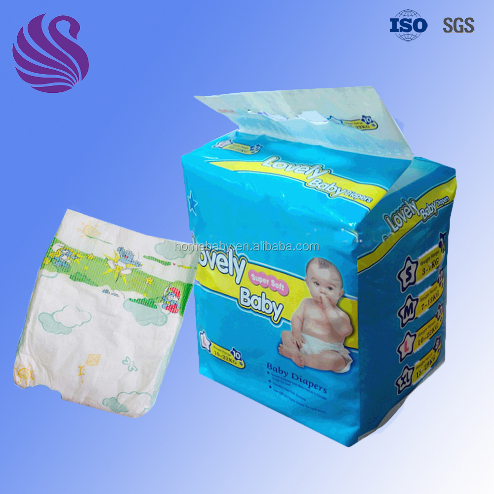 Fujian Diapers Supplier xxl six Soft Baby Diapers Manufacturers