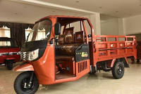 2016 heavy Load Capacity 250cc Water Cooled cargo 3 wheel motorcycle With Shed